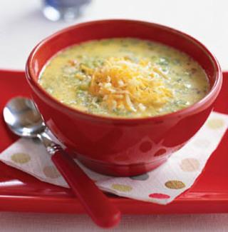sajtkrém leves