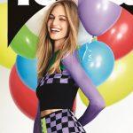 Világhírű magyar modell a 10 éves Marie Claire címlapján