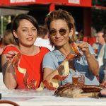 Így élvezi a nyarat a Duna parton Keresztes Ildikó