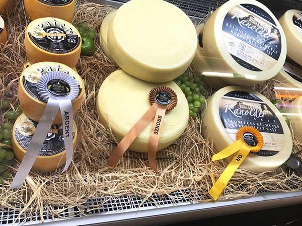 Ranolder, Pater, Panarella Mondial du Fromage sajtverseny