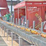 Rekordméretű grillnyársat sütött a SPAR Keszthelyen