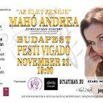 Jótékonysági koncertet ad Mahó Andrea