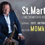 St.Martin lemezbemutató koncert a MOM Kulturális Központban