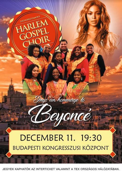 Harlem Gospel Choir flyer