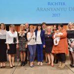 Újabb kilenc nő vette át a Richter Aranyanyu díját