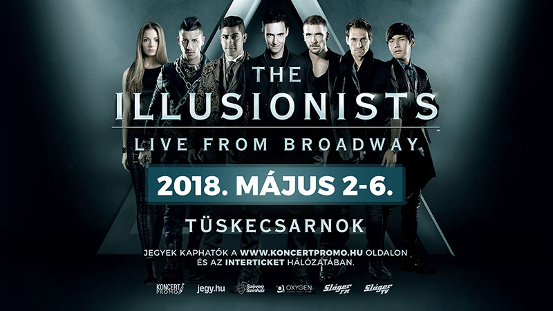 The Illusionists 2018 flyer