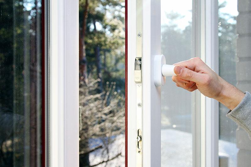 26013009 - hand open plastic pvc window