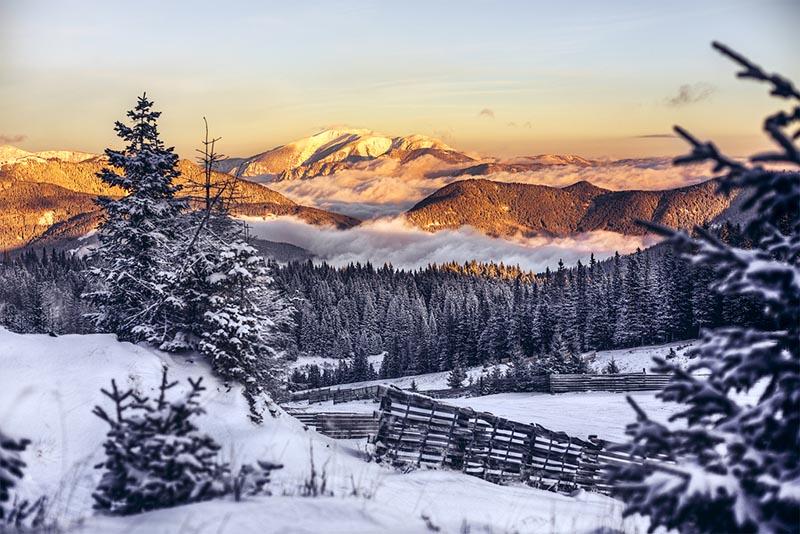 Alsó-Ausztria téli túra 1