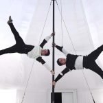 Cirkuszfesztivál – Kínai rúdszámot mutatnak be a magyar versenyzők