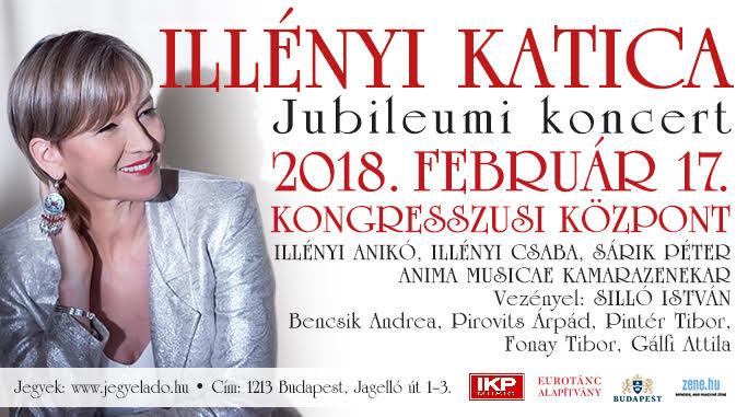 Illényi Katica koncert flyer