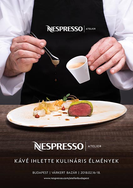 Nespresso Atelier flyer