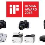 6 új iF Design díjas Canon terméket ünnepelhetünk
