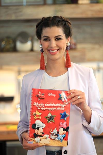 SPAR Disney Mesés szakácskönyv_Ördög Nóra