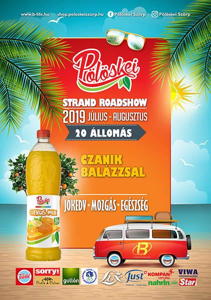 Pölöskei Czanik Balázs Roadshow 2019 plakát